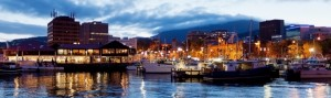 Hobart at Dusk 1140x340